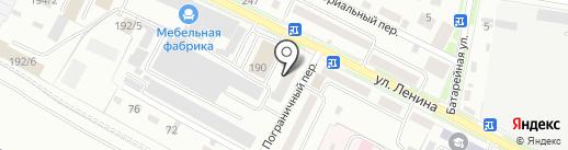Магазин мебели на карте Благовещенска