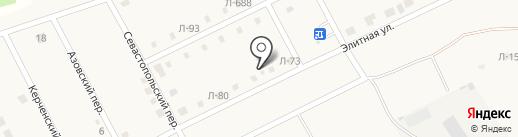 БАМБУК на карте Чигирей