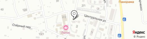 Автопорт на карте Плодопитомника