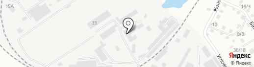 Благовещенское предприятие промышленного железнодорожного транспорта на карте Благовещенска