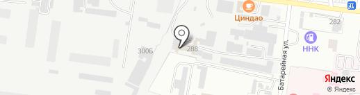 Трассияне на карте Благовещенска