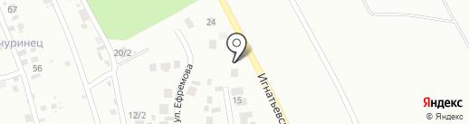 Шиномонтажная мастерская на карте Плодопитомника