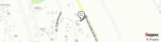 Автомагнат на карте Плодопитомника