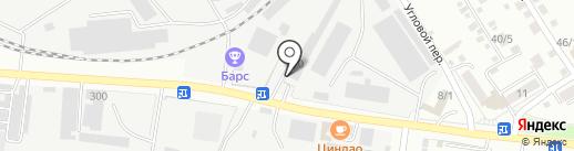 Межрегиональное путейское предприятие на карте Благовещенска
