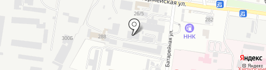 GT-S на карте Благовещенска