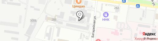Амурская строительная компания на карте Благовещенска