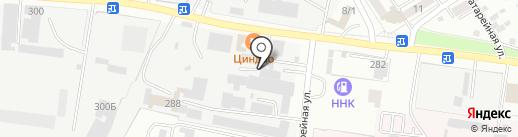 Механик на карте Благовещенска