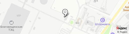 Beli Slon на карте Благовещенска
