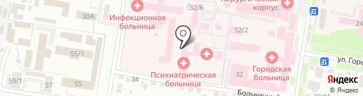 Мужское отделение на карте Благовещенска