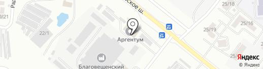 Движение, СПК на карте Благовещенска