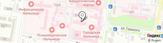 Женское отделение на карте Благовещенска
