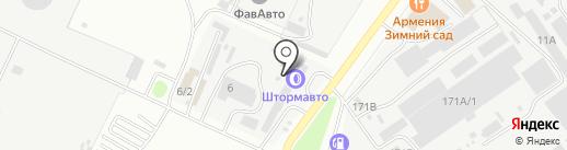 Pole Position на карте Благовещенска