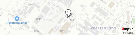 Компания по нанесению полимерного покрытия на карте Благовещенска