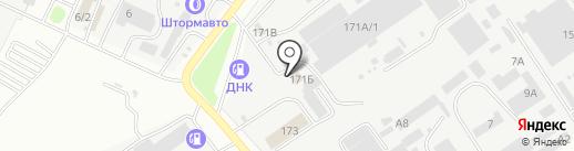 Автомаг на карте Благовещенска