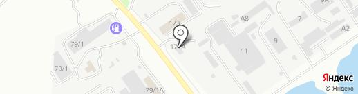 Автобаза ДВ на карте Благовещенска