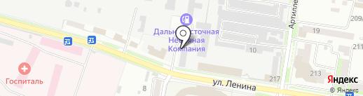 Военный следственный отдел следственного комитета РФ по Благовещенскому гарнизону на карте Благовещенска