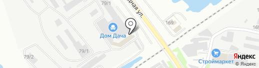 Матрешка на карте Благовещенска
