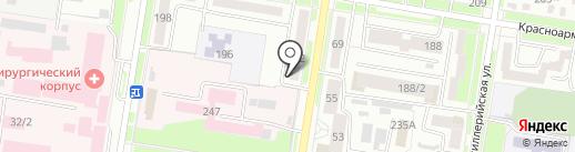 Фэри на карте Благовещенска