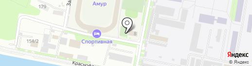 Министерство физической культуры и спорта Амурской области на карте Благовещенска
