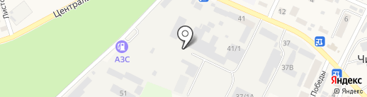 Строительно-монтажный трест-28 на карте Чигирей