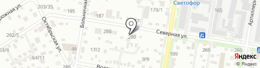 Автомастерская по комплексному ремонту тормозной системы на карте Благовещенска