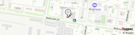РегионСпецСтрой на карте Благовещенска