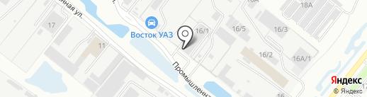 СИА Интернейшнл-Благовещенск на карте Благовещенска
