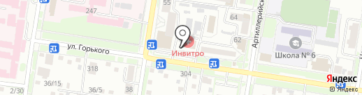 Советский Сберегательный Союз Регионов, КПК на карте Благовещенска