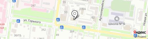 Энерго Аудит Амур на карте Благовещенска