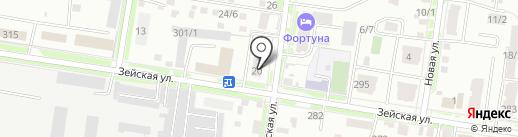 АмурQUEST на карте Благовещенска