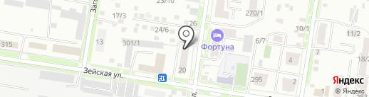 DekorТорт на карте Благовещенска