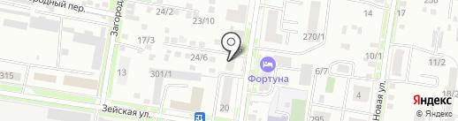 Амурская прокуратура по надзору за соблюдением законов в исправительных учреждениях на карте Благовещенска