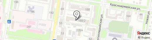 Амурдорпроект на карте Благовещенска