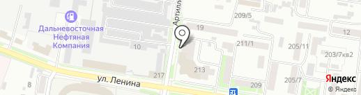 Компания СТЭЛС на карте Благовещенска