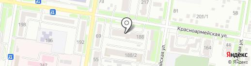 Верона на карте Благовещенска