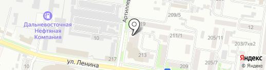 АмурСлух на карте Благовещенска