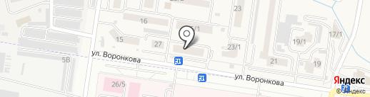 Аптечный пункт на карте Благовещенска