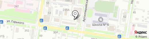 TEXAS на карте Благовещенска