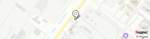 Механик Кулибин на карте Благовещенска