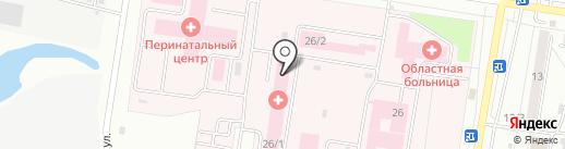 Морг на карте Благовещенска