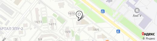 U-fun.ru на карте Благовещенска