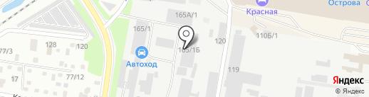 Амурский родник на карте Благовещенска