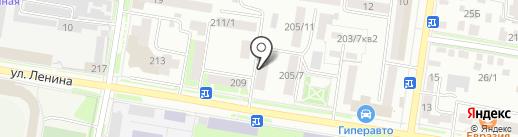 Оценщик+ на карте Благовещенска