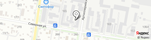 Кросс М на карте Благовещенска