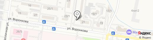 Скиф на карте Благовещенска