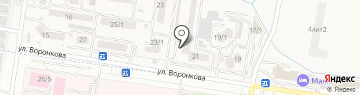 Домовёнок на карте Благовещенска