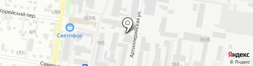 Региональная строительная компания 28 на карте Благовещенска