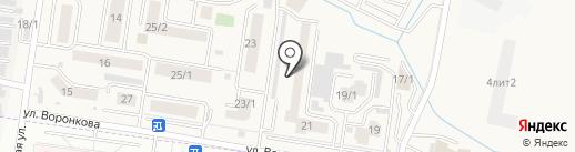 Grunge на карте Благовещенска