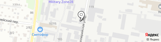 Агентство международной логистики на карте Благовещенска