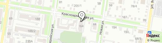 Амурстройзаказчик на карте Благовещенска